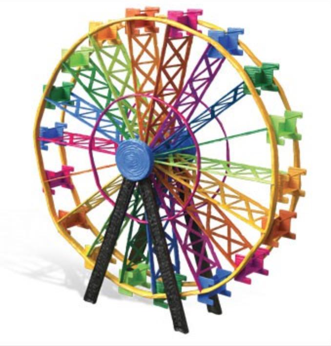 grande roue 3d