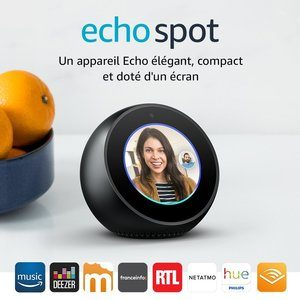 Compatibilités Echo Spot Amazon